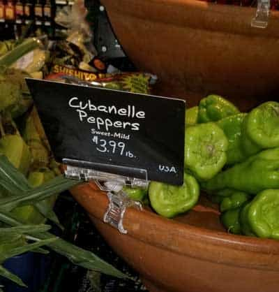 Cubanelle peppers