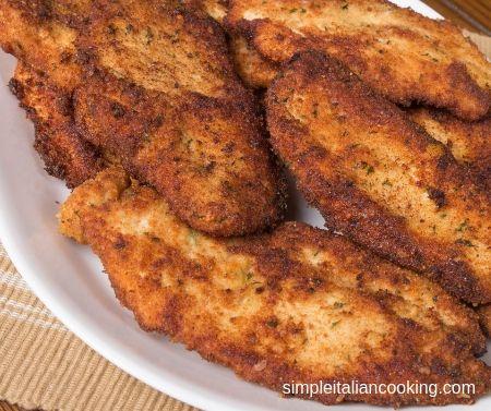 Italian Fried Chicken Cutlets Recipe