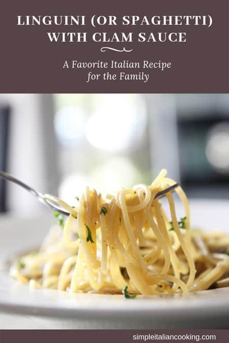 clams and linguine italian recipe