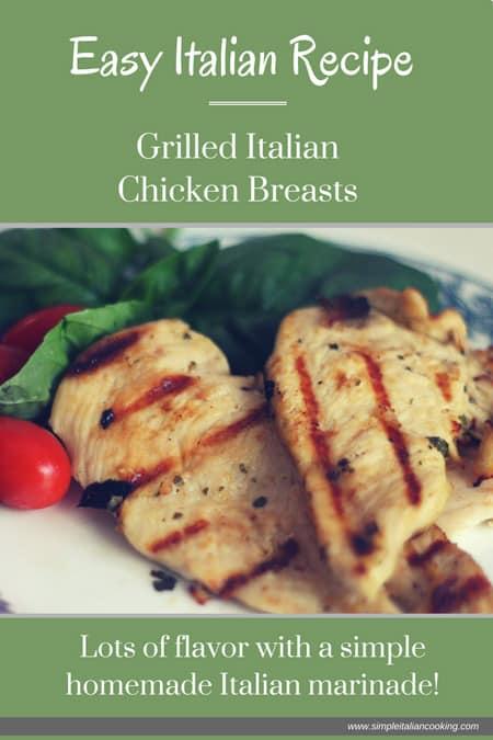Grilled Italian Chicken Breasts Recipe