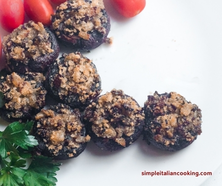 stuffed mushrooms christmas recipe