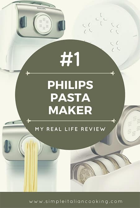 Phillips Pasta Maker Real Life Review for Homemade Pasta