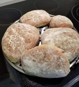 homemade italian bread loaves