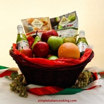 diy homemade fruit gift basket