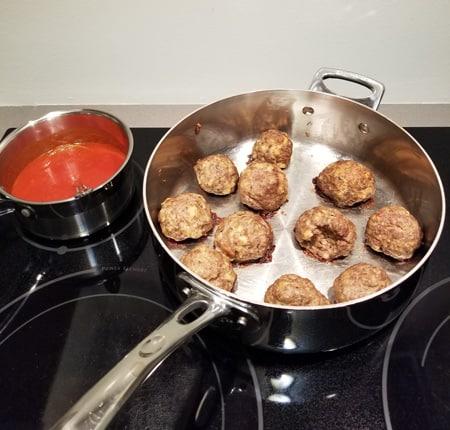 baked moist meatballs
