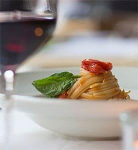 Pairing wine and pasta