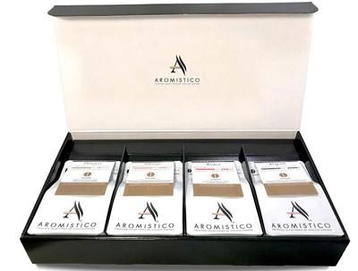 Italian coffee set sampler box