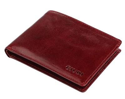 italian leather billfold wallet